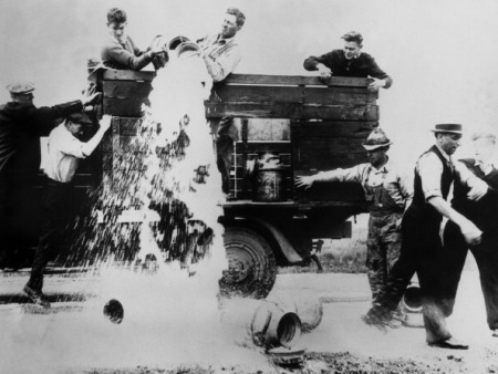 24Th Of May 1933.Wisconsin. American Farmers Strike