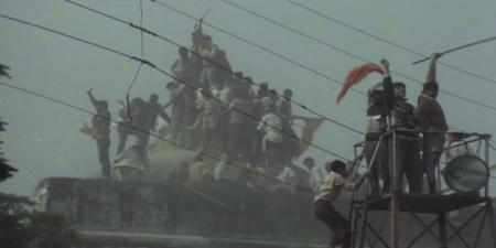 Sacred émeutes hindouistes