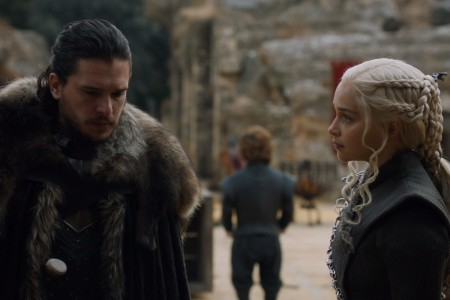 GoT Jon Daenerys