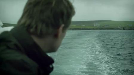 Shetland départ côté