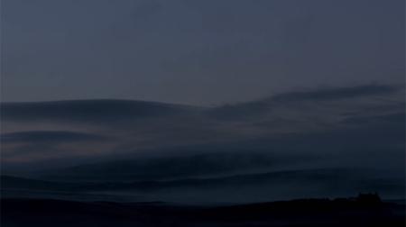 Shetland paysage nuit