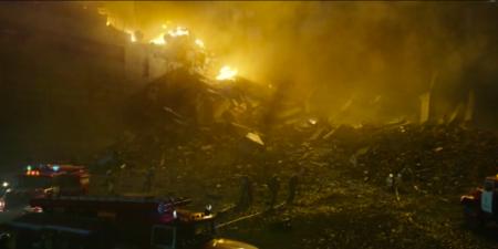 Chernobyl incendie