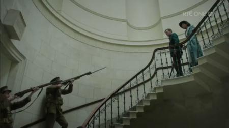 Rebellion escalier