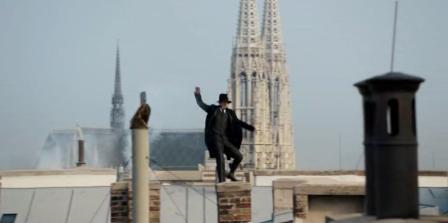 VB course sur les toits