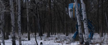 Loop robot forêt